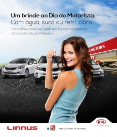 Dia do motorista Kia Linnus