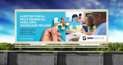 Outdoor Valorização do Auditor Fiscal