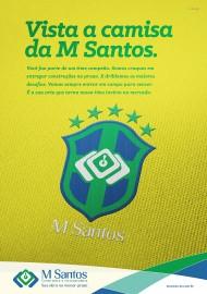 Vista a camisa M Santos