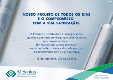 Dia do Cliente M Santos