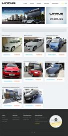 Linnus Automóveis - Site