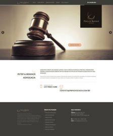 Petry e Benincá Advocacia - Site