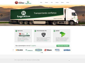 Transportadora Conilon TL Logística - Site